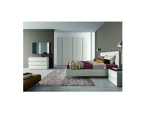 Camera da letto Ptn304 Santalucia in laminato in Offerta Outlet