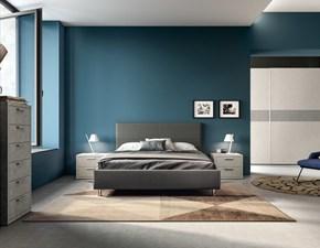 Camera da letto Ptn307 Artigianale in laminato in Offerta Outlet