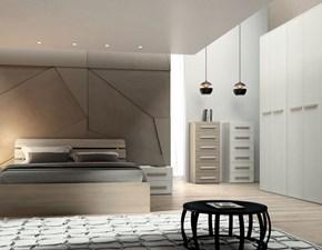Camera da letto Smart San martino mobili in laminato a prezzo Outlet affrettati