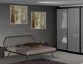 Camera da letto Trama vitrum atlante Pianca in legno a prezzo Outlet