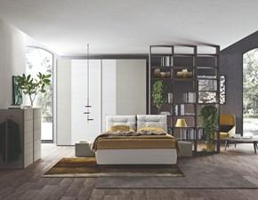 Camera da letto Vitality m209 Colombini in laccato opaco a prezzo Outlet