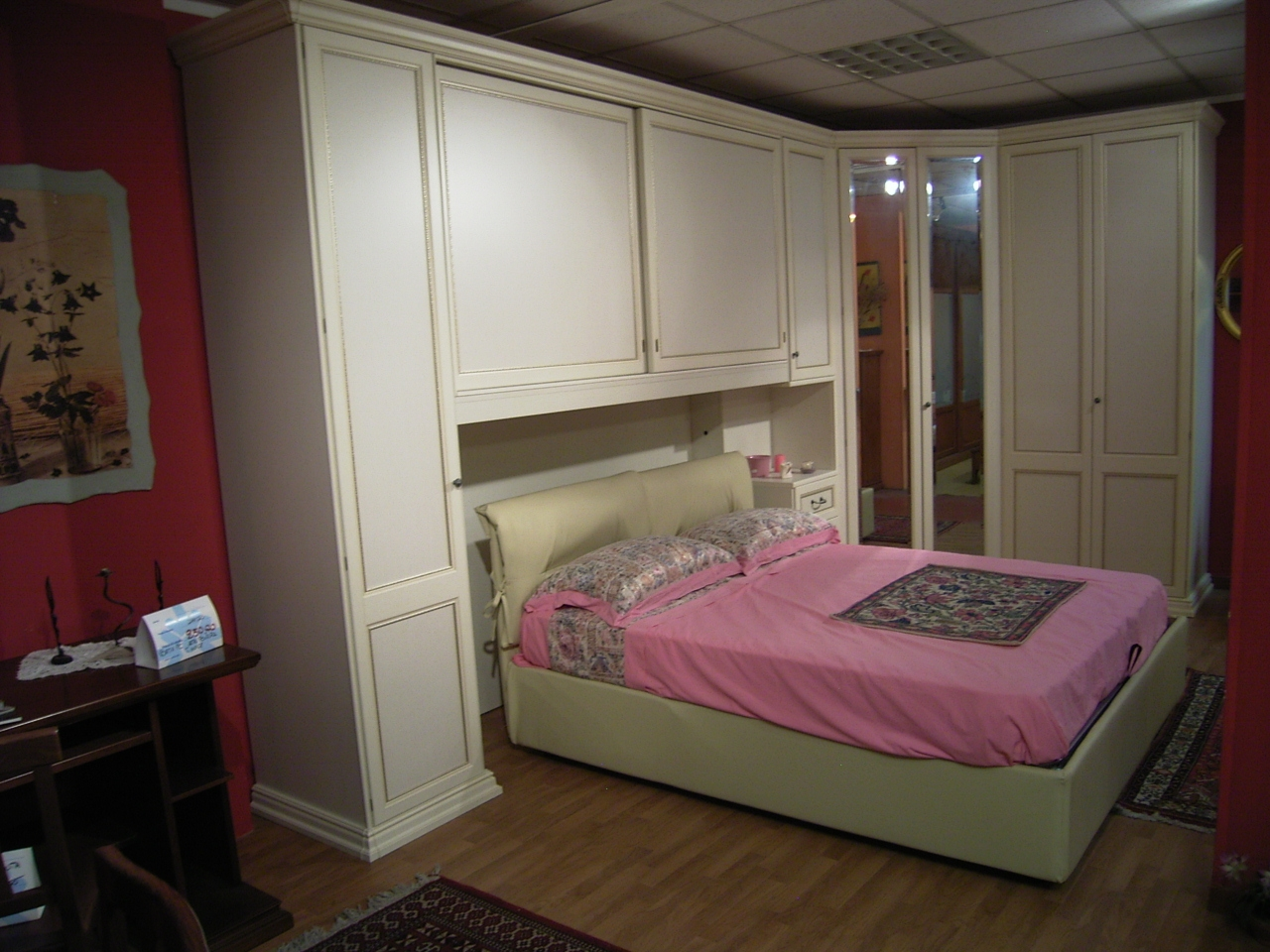 Armadio ponte cabina scontato camere a prezzi scontati - Camere da letto con cabina armadio angolare ...