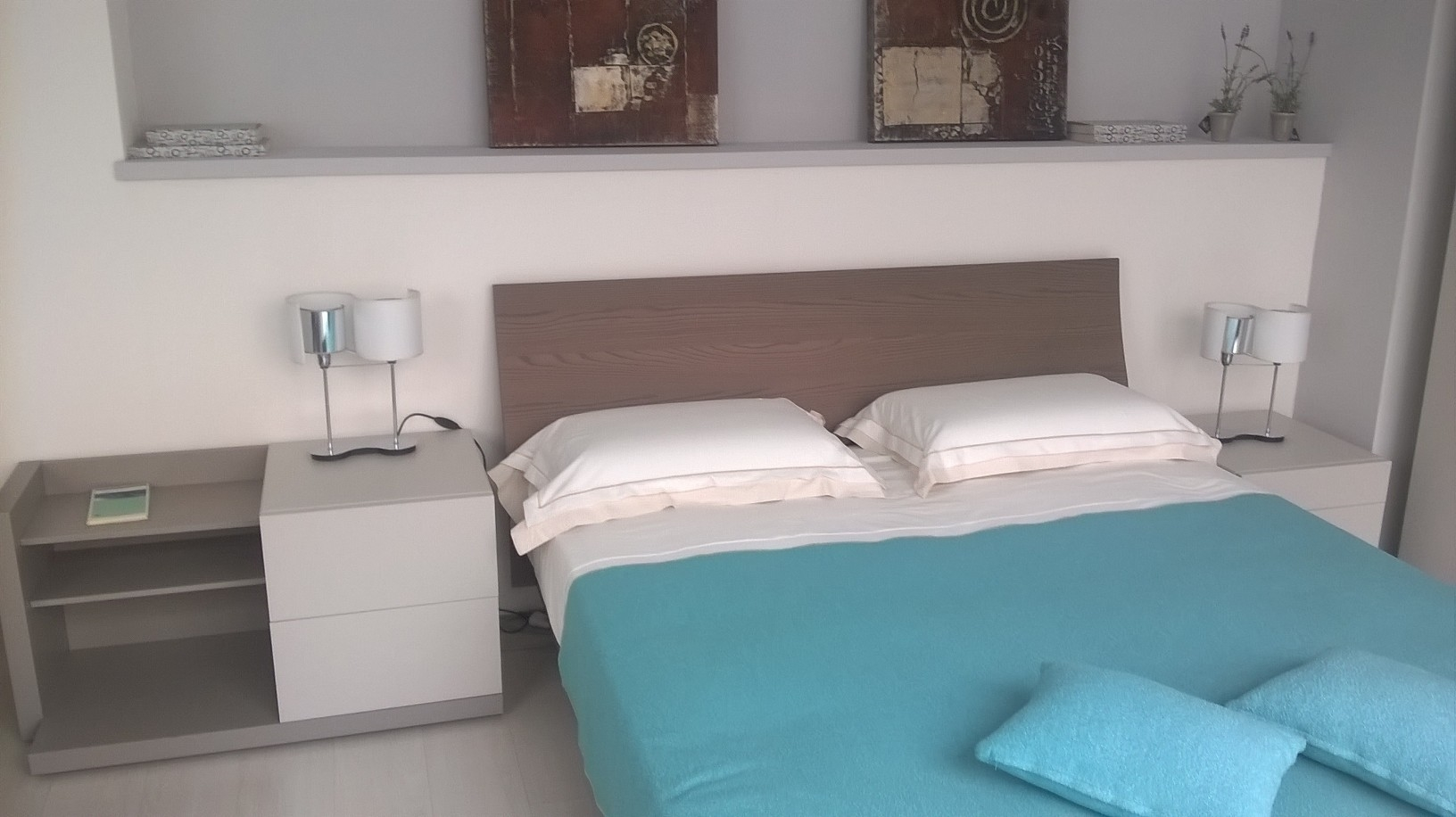 Caccaro Camera Grafik + letto filesse scontato del -43 % - Camere a prezzi scontati