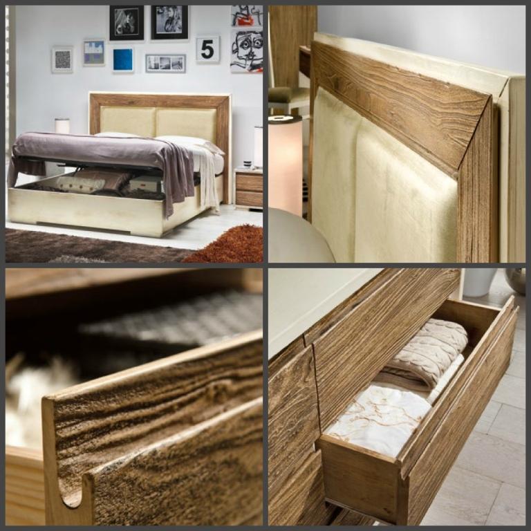 Camera matrimoniale legno a poro aperto camere a prezzi for Camera matrimoniale in legno