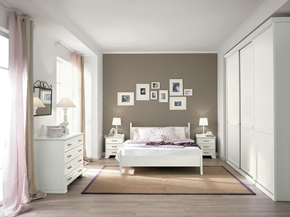 Camera colombini arcadia in laminato moderno camera - Camere da letto beige ...