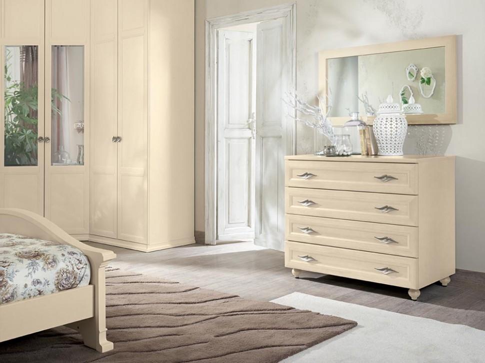 Camera colombini arcadia in melaminico stile classico for Soprammobili per camera da letto