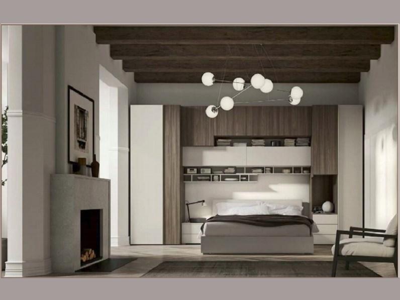 Camera completa abitare mobilstella in laminato a prezzo for Abitare arredamenti camerette