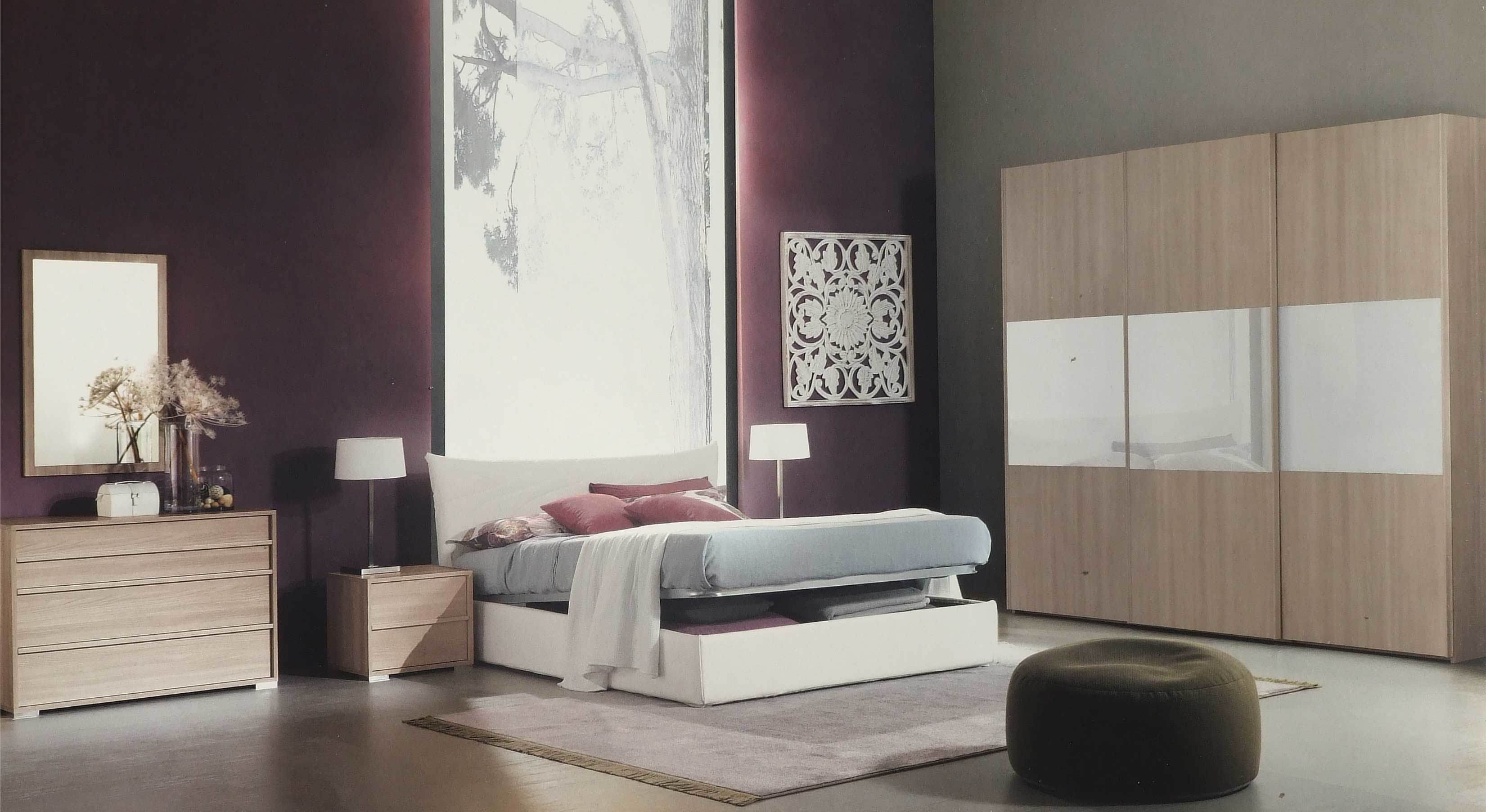 Parete soggiorno originale - Camere da letto in pelle ...