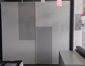 Camera completa Armadio serie accordo gruppo modello belt Mercantini in laccato opaco a prezzo scontato