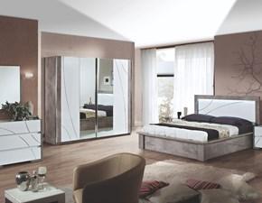 Camera completa Artigianale Modello milano a prezzo ribassato in laccato lucido