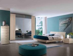 Camera completa Artigianale Mottes mobili camera matrimoniale curtatone a prezzo ribassato in legno