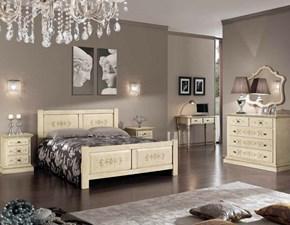 Camera completa Camera completa classica avorio anticato mottes mobili Artigianale in legno a prezzo Outlet