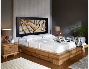 Camera completa Camera etnica legno e bambu  Outlet etnico in legno a prezzo Outlet