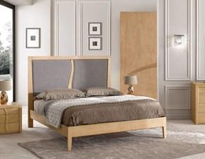Camera completa Camera frassino natural design Mirandola in legno a prezzo scontato