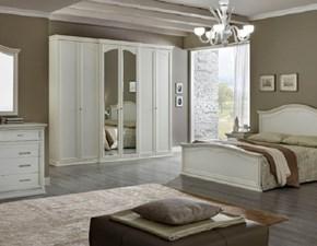Camera completa Camera matrimoniale completa mod.ambra bianco gessato scontata del 40% Dal cin in tamburato a prezzo ribassato