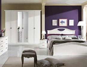 Camera completa Camera matrimoniale completa mod.dafne versione frassino bianco scontata del 40% Gruppo silwood a prezzo ribassato