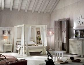 Camera completa Camera matrimoniale con letto a baldacchino Mottes selection OFFERTA OUTLET