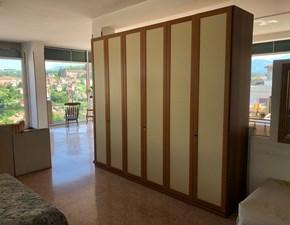 Camera completa Camera matrimoniale con telaio frassino  Colombini in laminato a prezzo scontato