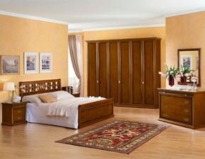 Camera completa Camera matrimoniale mod.eleonora versione noce scontata del 40% Dal cin a un prezzo imperdibile