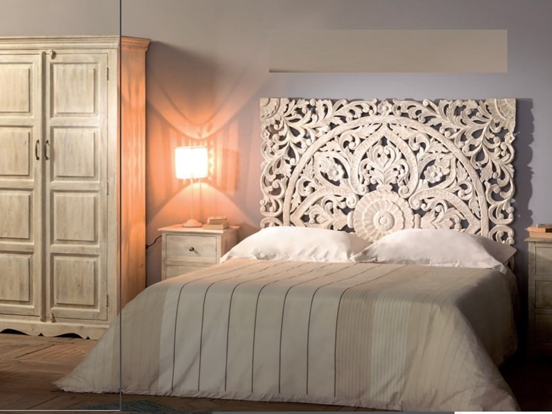 Camere Da Letto Etniche.Camera Completa Camera Shabby Chic Indian Outlet Etnico In Legno A