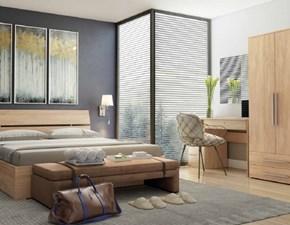 Camera completa Camere contract hotel fine serie vari colori Md work in laminato a prezzo Outlet