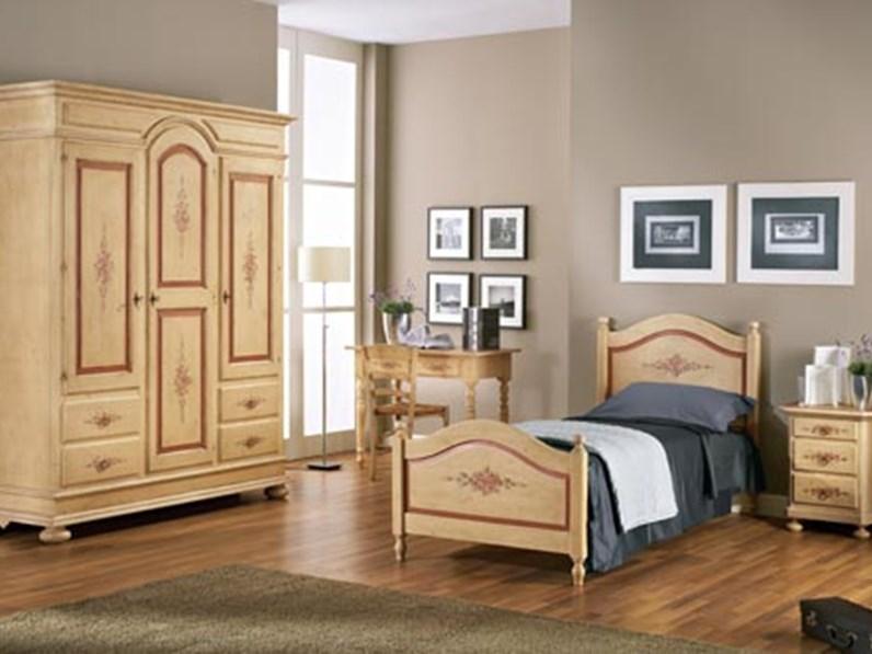 Camera completa cameretta in legno decor mottes mobili for Outlet dei mobili