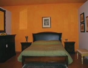 Camera completa Canova di Bordignon in legno noce anticato a prezzo ribassato