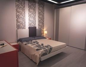 Camera completa Comby decor Villanova in laccato opaco in Offerta Outlet