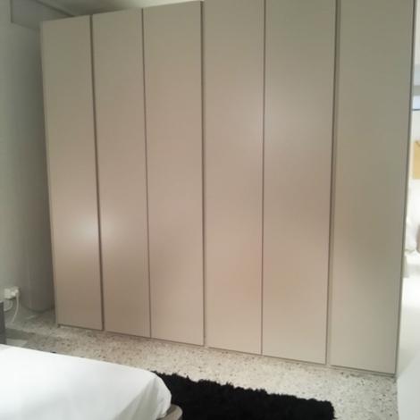 Camera completa con armadio 6 ante laccato comò comodini onda - Camere a prez...