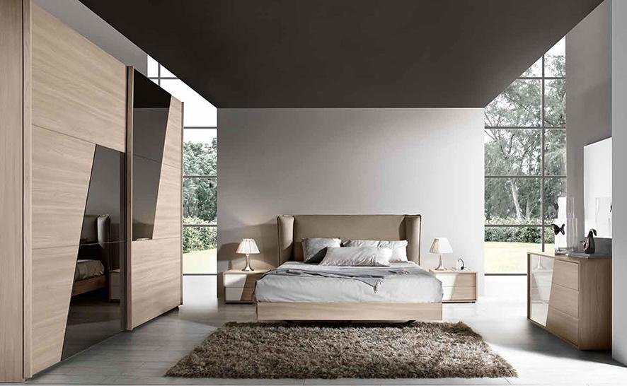 Camera completa con armadio a doppia anta scorrevole nuova scontata camere a prezzi scontati - Stanza da letto moderna prezzi ...