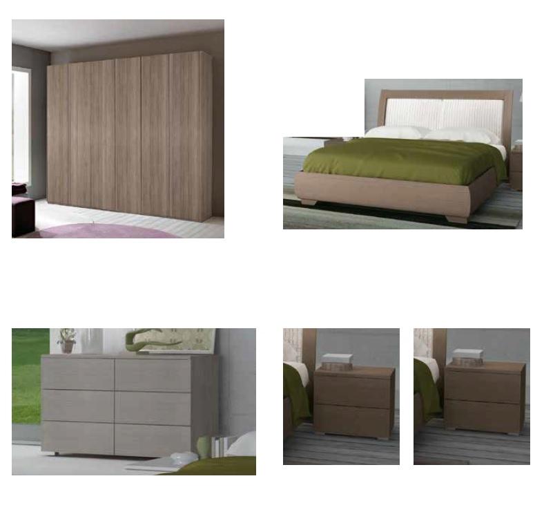 Camera completa con letto contenitore fine serie camere - Camera di letto completa ...