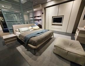Camera completa Cv 513 cube Prezioso in laccato opaco in Offerta Outlet