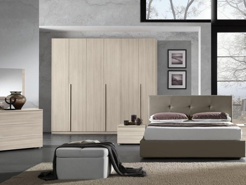 Camera completa Kendra con letto contenitore prezzo ribassato