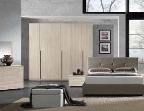 Camera completa Kendra Gierre mobili in laminato a prezzo Outlet