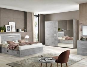 Camera completa Modello star grigia marmo Artigianale OFFERTA OUTLET