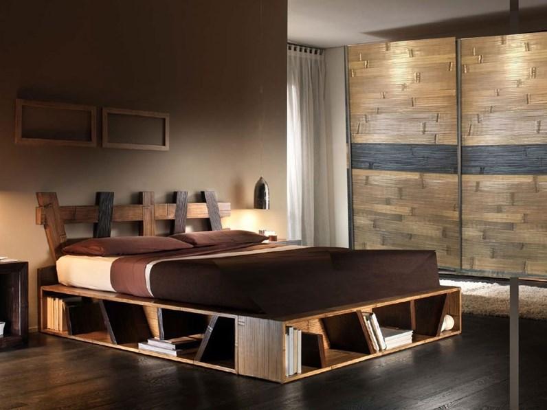 camera completa moderna etnica outlet etnico in legno a