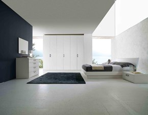 Camera completa Mottes mobili camera matrimoniale argegno Artigianale in legno a prezzo ribassato