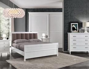 Camera completa Mottes mobili camera matrimoniale completa in legno laccato Artigianale a prezzo ribassato 40%