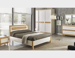 Camera completa Mottes mobili camera matrimoniale completa in legno laccato Artigianale in laccato opaco a prezzo ribassato