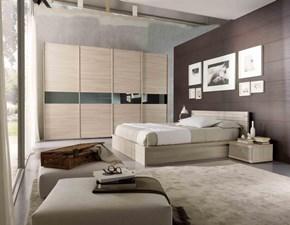 Camera completa Mottes mobili camera matrimoniale gubbio Artigianale in legno a prezzo ribassato