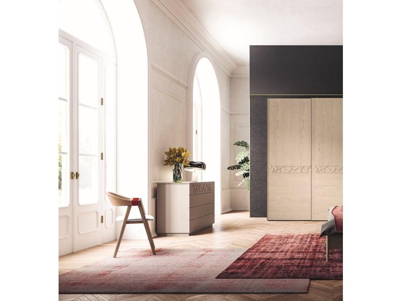 camera completa mottes mobili di san michele in legno a
