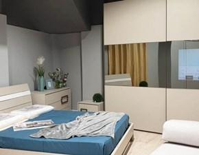 Camera completa Quazar Artigianmobili in legno a prezzo ribassato