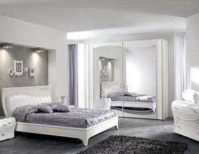 Camera completa Saltarelli mod. diadema Artigianale in laccato opaco a prezzo ribassato