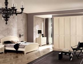 Camera completa San michele Dea beige a prezzo scontato in laccato opaco