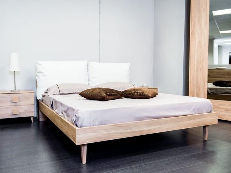 Camera completa tag con letto argo in materico frassino in super offerta - Camera letto offerta ...