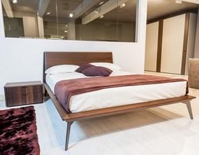 Camera completa Timeless con letto Xilo in legno rovere termocotto a prezzo scontato 30%