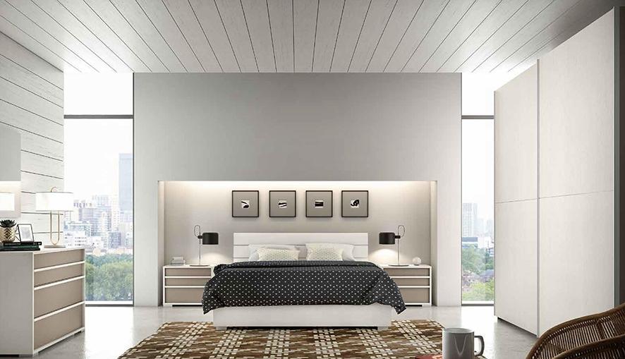 Camera con letto matrimoniale contenitore nuova a prezzo for Prezzo camera matrimoniale