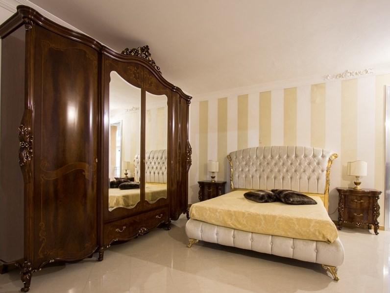 da letto classica in piuma di noce Portofino Signorini & Coco in Offerta