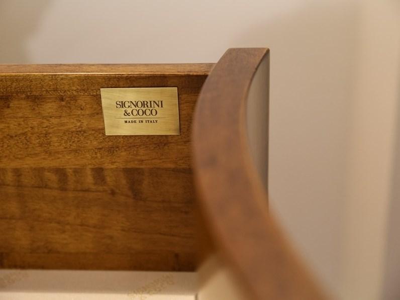 Camera da letto classica in piuma di noce portofino - Camera da letto classica noce ...