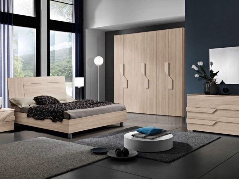 Camera da letto completa Chantal di M.C.S. armadi con uno sconto del 53%  MODERNA